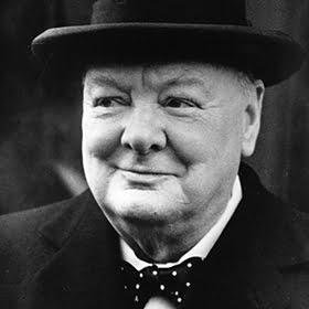 Winston Churchill (Sir Winston Leonard Spencer Churchill) - 1874-1965 - Politico, storico e giornalista britannico